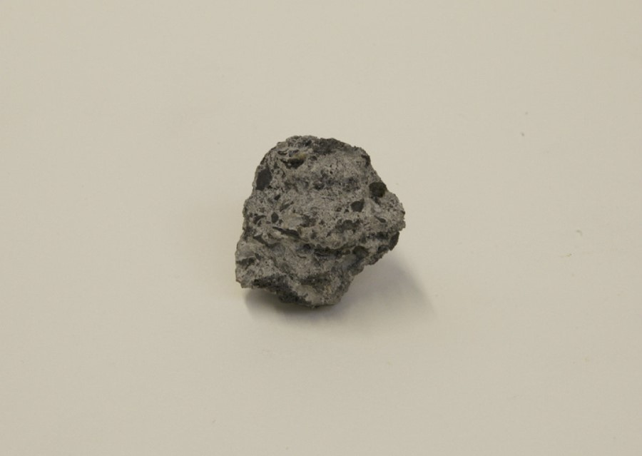 Tar and cement meteorite