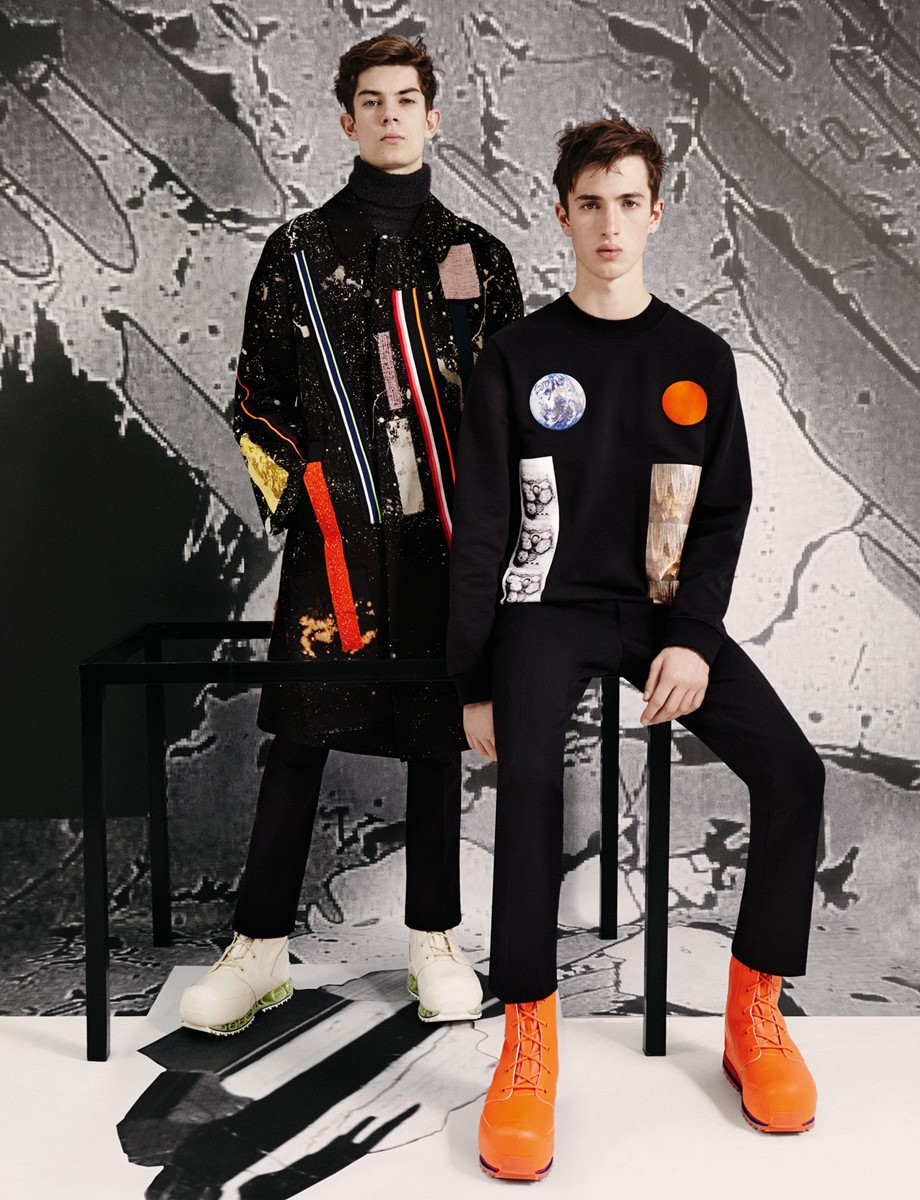 Raf Simons / Sterling Ruby AW14 Ben Toms Robbie Spencer