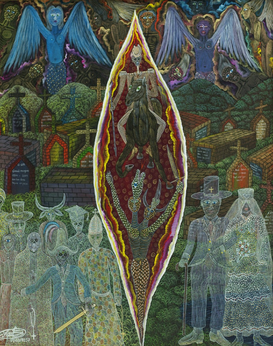 Wedding of Damballah, by Frantz Zéphirin (2007)